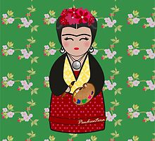 Kokeshi Frida  by Pendientera
