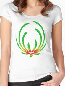 Exotic Elegance Women's Fitted Scoop T-Shirt