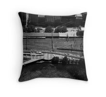 Rule of thirds Throw Pillow