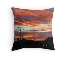 Sunset Delight Throw Pillow
