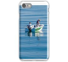 Fishing on the Gold Coast Broadwater iPhone Case/Skin