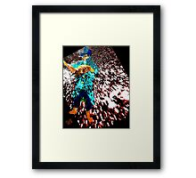 Reading - A New World to Explore Framed Print