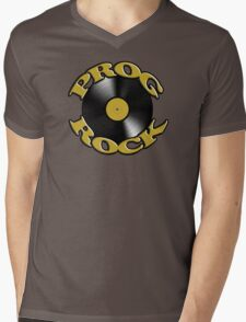 Prog Rock Record Mens V-Neck T-Shirt