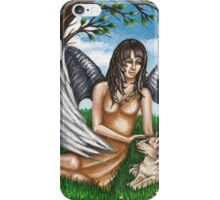 Guardian of the Furry Ones iPhone Case/Skin