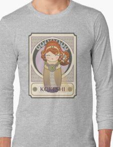 Kokeshi Art nouveau Long Sleeve T-Shirt