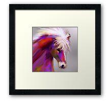 Horse of color Framed Print