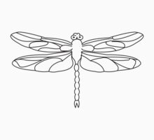 Dragonfly Baby Tee