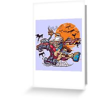 Fink and Loathing Greeting Card