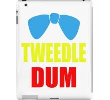 Tweedle Dum iPad Case/Skin