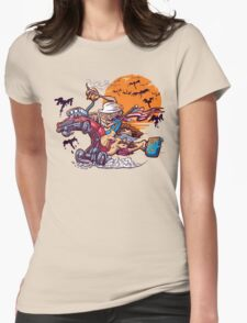 Fink and Loathing Womens Fitted T-Shirt