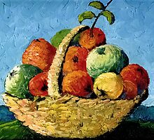 'Basket of Fruit' by Vincent von Frese