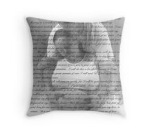 Baby's Coming . . .  Throw Pillow