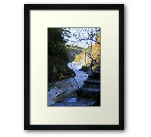 Fall in Letchworth Framed Print