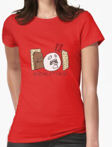 Sneak Attack! Womens Fitted T-Shirt