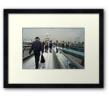 All roads lead to St. Pauls Framed Print