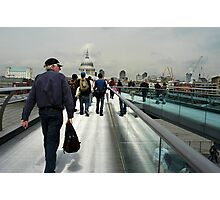 All roads lead to St. Pauls Photographic Print