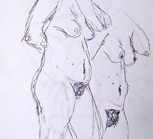 nude and nerves by Jo O'Brien