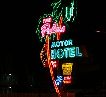 The Palms Motor Hotel by Patricia Shriver
