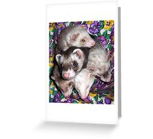Five Is A Crowd Greeting Card