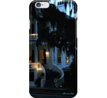 Evening at Rhett House Inn iPhone Case/Skin