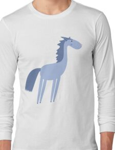 Cartoon horse Long Sleeve T-Shirt