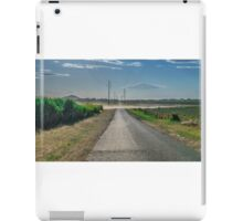 Dusty Road out in rural Queensland iPad Case/Skin
