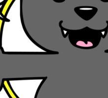 wolf pupy  Sticker