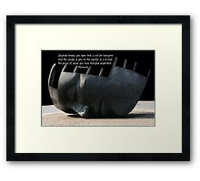 Solitude Framed Print