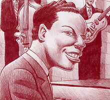 Nat King Cole Trio by Mike Cressy