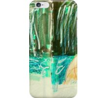 bathing woman (Fara) in natural setting iPhone Case/Skin