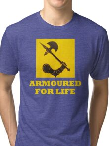 The might of Armour Tri-blend T-Shirt