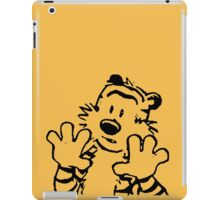 calvin and hobbes: woah now iPad Case/Skin