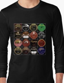 Vintage Records Long Sleeve T-Shirt