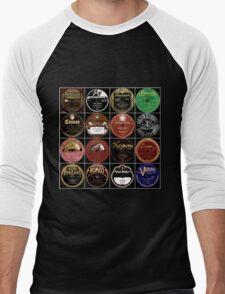 Vintage Records Men's Baseball ¾ T-Shirt
