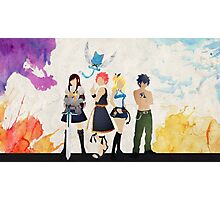 The Protagonists - Fairy Tail  Photographic Print