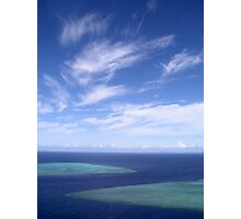 Ribbon Sky Photographic Print
