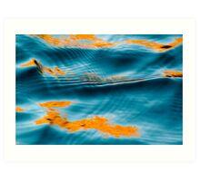 Seductive water Art Print