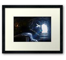 Jesus Empty Tomb Framed Print