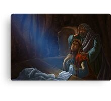 Jesus Empty Tomb Canvas Print