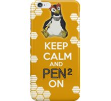 Keep Calm and PenPen on iPhone Case/Skin