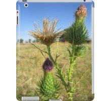 Wild flower in detail iPad Case/Skin