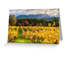 Boynton's Feathertop Winery #5 Greeting Card