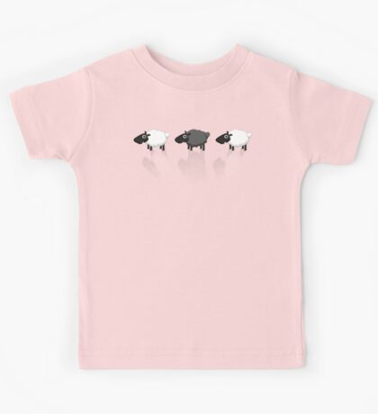 Black Sheep (group) Reflection Tee Kids Tee