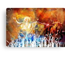 Jesus Speaks to the Masses Canvas Print