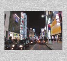 Ginza Streetscape, Chūō, Tokyo Kids Tee
