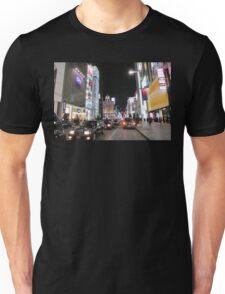 Ginza Streetscape, Chūō, Tokyo Unisex T-Shirt