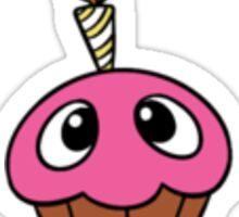 Cupcake Sticker - Single Sticker