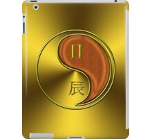 Gemini & Dragon Yang Wood iPad Case/Skin