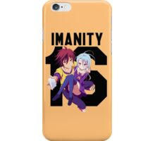 No Game No Life // Imanity 16 iPhone Case/Skin
