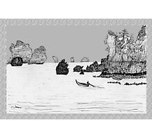 Thailand - the view from Ton Sai beach * Photographic Print